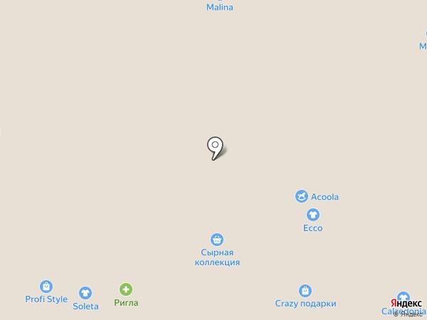 Pandora на карте Томска