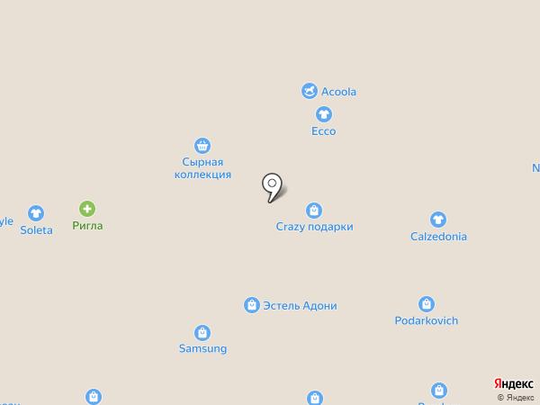 Аттракцион виртуальной реальности на карте Томска
