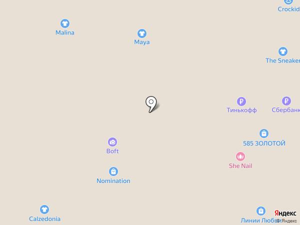 Lee Cooper London на карте Томска