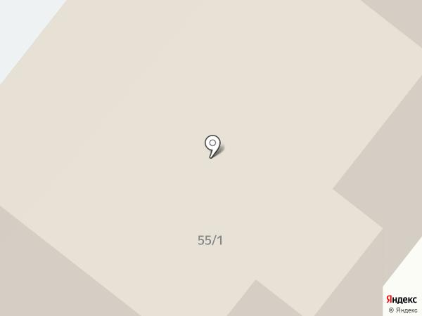 На Южной на карте Томска