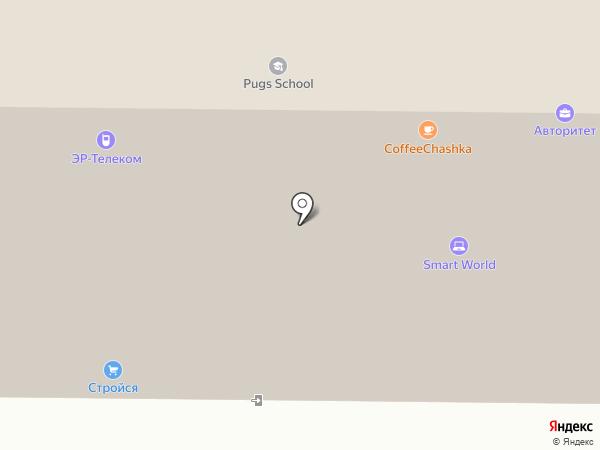 Служба 006 на карте Томска