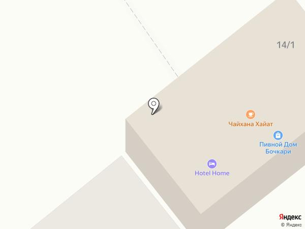 Пивной Дом Бочкари на карте Белокурихи