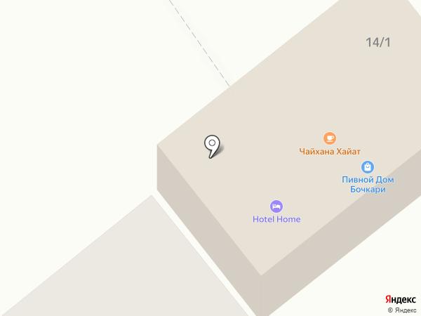 Аквамастер на карте Белокурихи