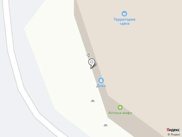 Мария-Ра на карте Томска