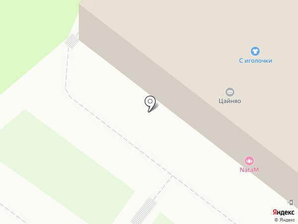 Красная Пресня на карте Томска