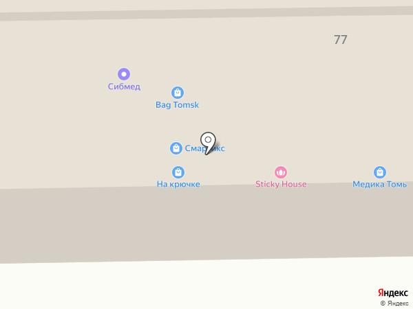 Лучший выбор на карте Томска