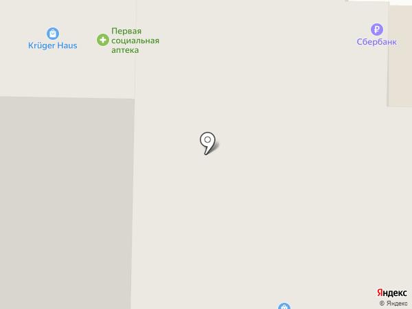 Моя оптика на карте Томска