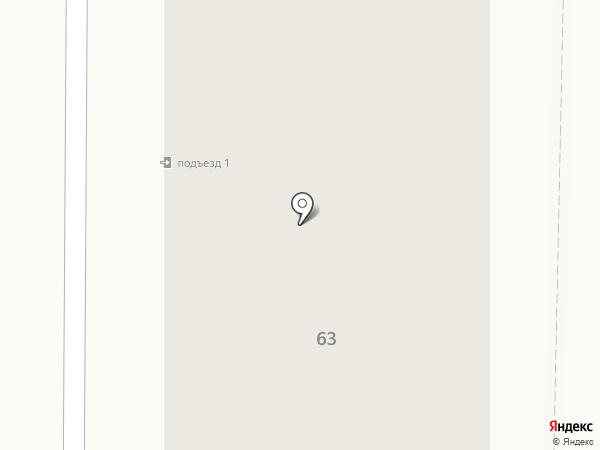 Гогарин на карте Томска