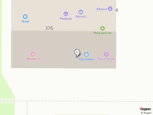 Эль Ликон на карте Томска