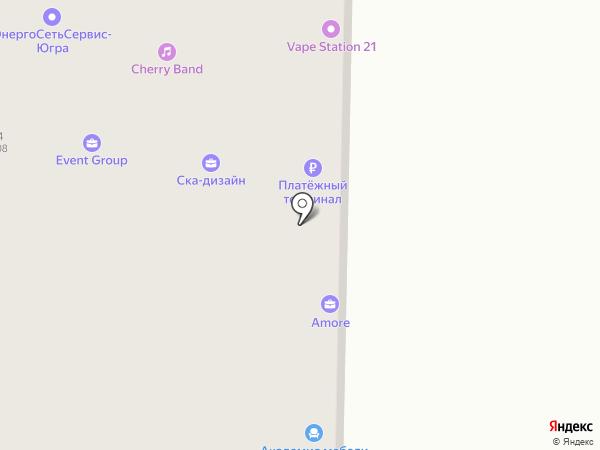Септима на карте Томска