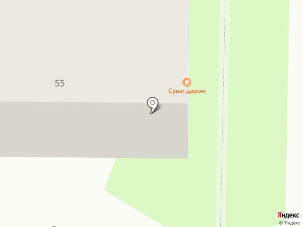 CRAFT на карте Томска