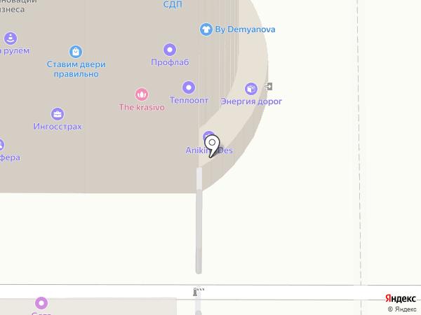 ТД Электрон на карте Томска