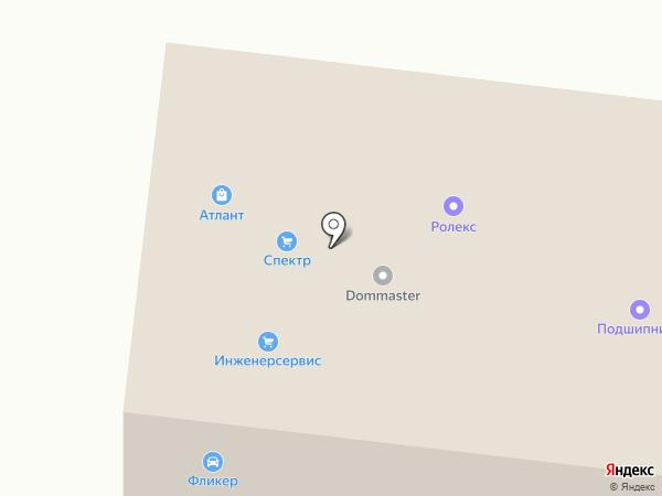 Сибирское на карте Томска