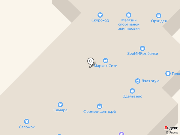 Карусель на карте Белокурихи