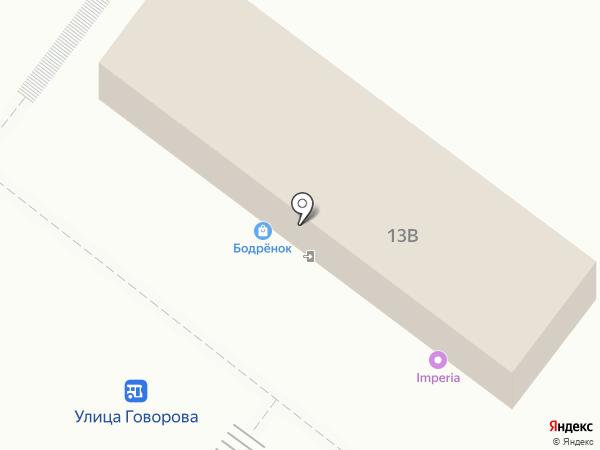 Русский фейерверк на карте Томска