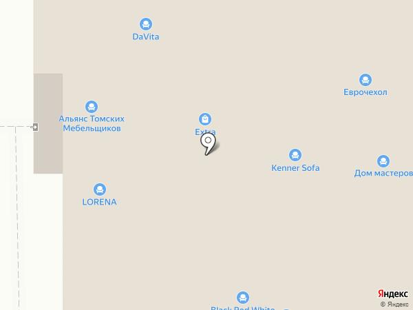 Верона на карте Томска
