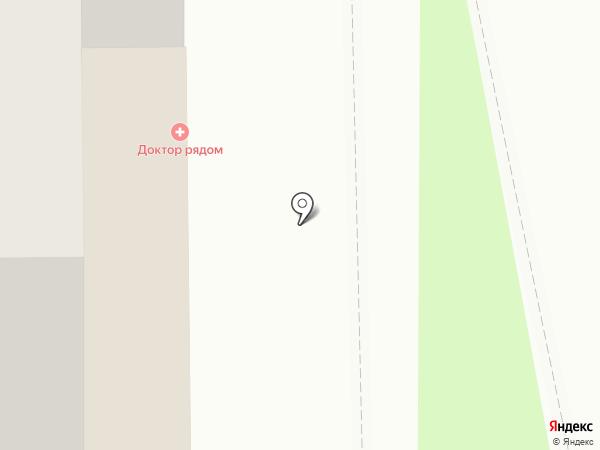 ШаЛе на карте Томска
