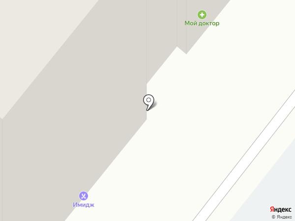 Имидж на карте Томска