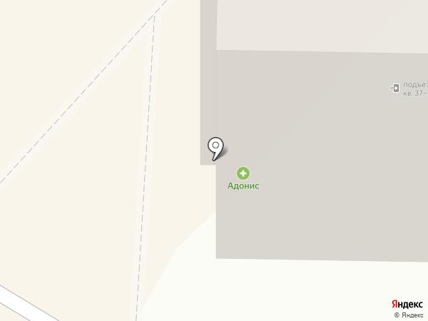 Адонис на карте Белокурихи