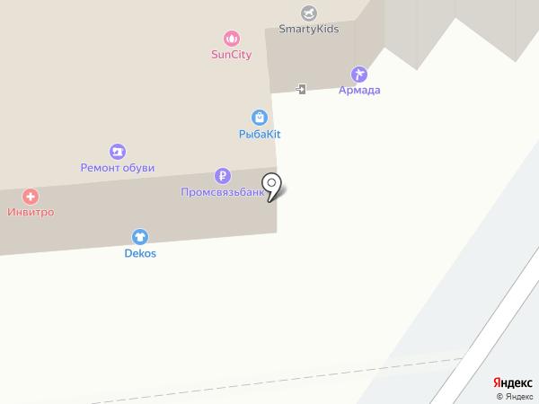 Модельная школа Елизаветы Романовой на карте Томска