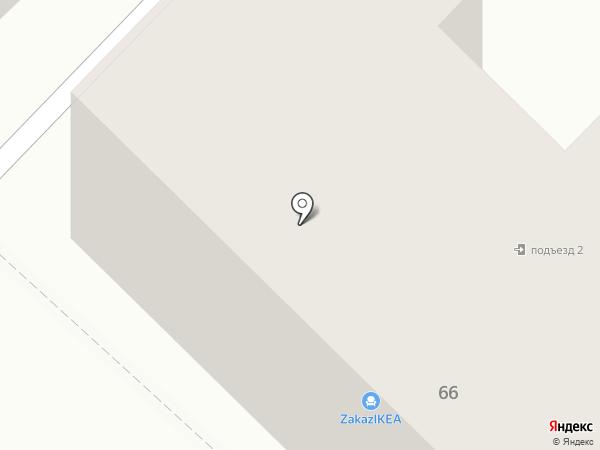 Подушкин Дом на карте Томска