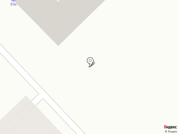 Комфортный Дом на карте Томска