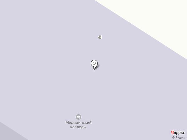 Томский базовый медицинский колледж на карте Томска