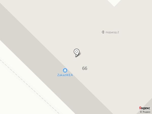 Рябинка на карте Томска