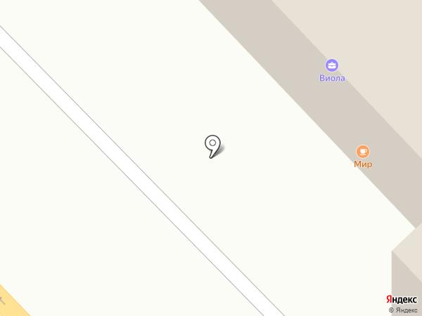 Южанка на карте Томска