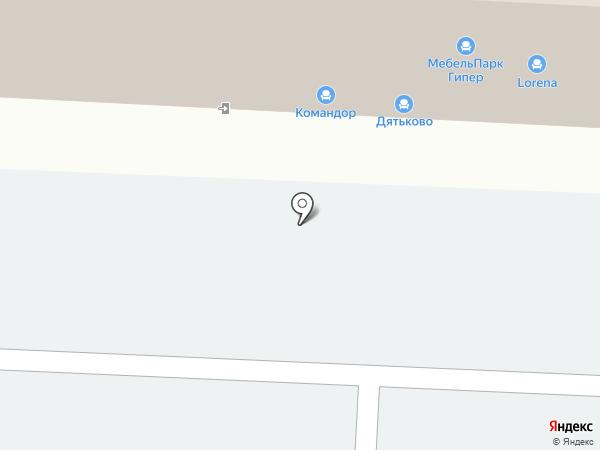 Столбери на карте Томска