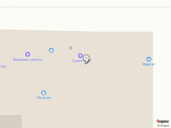 Султан-Т на карте Томска