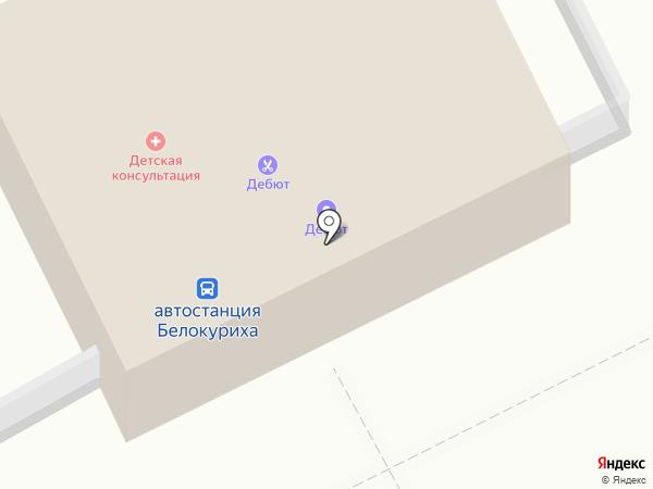 Автовокзал на карте Белокурихи