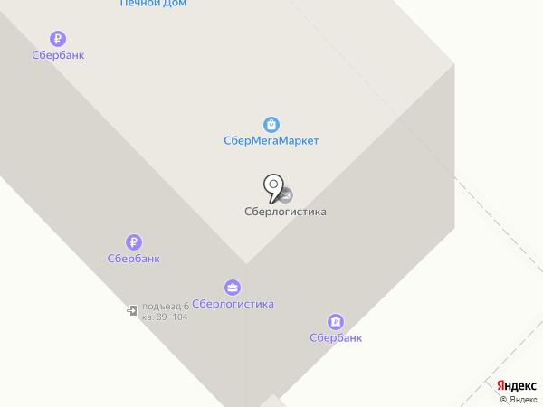 Машенька на карте Томска