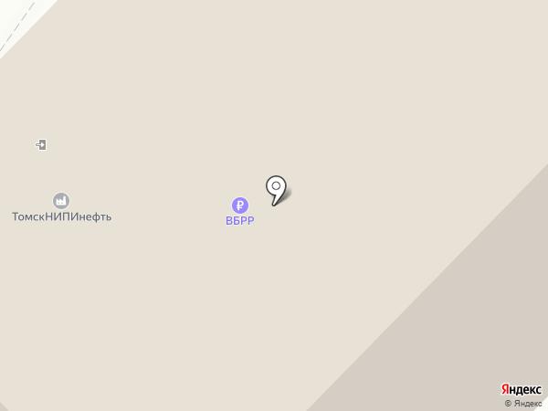 Банкомат, Всероссийский банк развития регионов на карте Томска