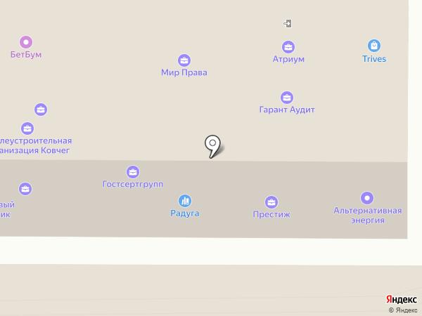 Бочка на карте Томска