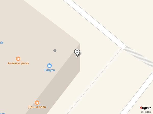 Магазин швейной фурнитуры на карте Томска