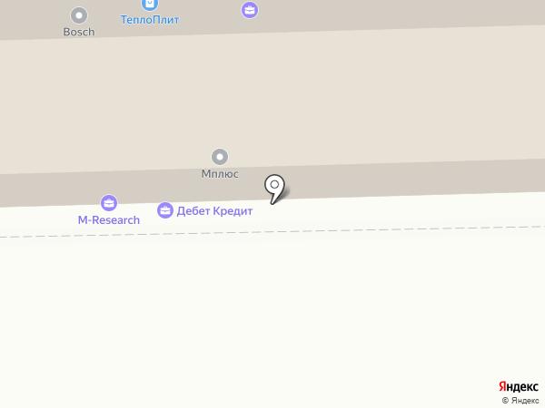 Бухгалтер плюс на карте Томска