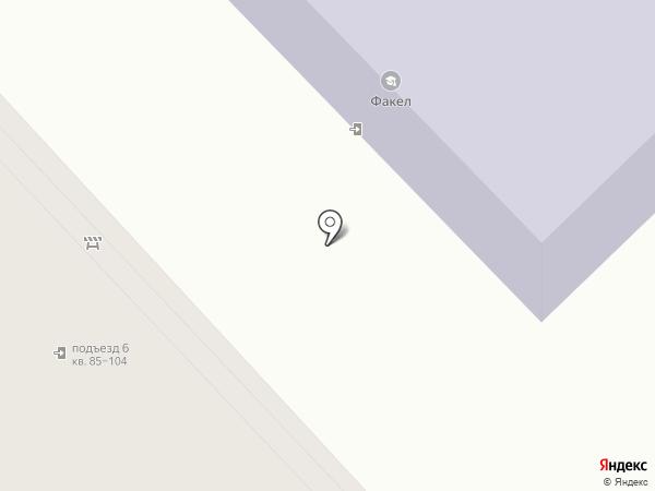 Рок-Стрит на карте Томска