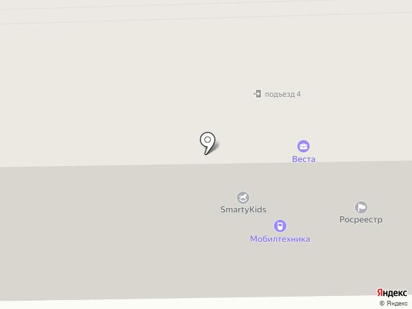 Управление Федеральной службы государственной регистрации на карте Белокурихи