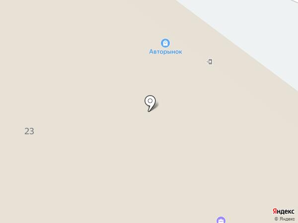 Автомагазин на карте Томска