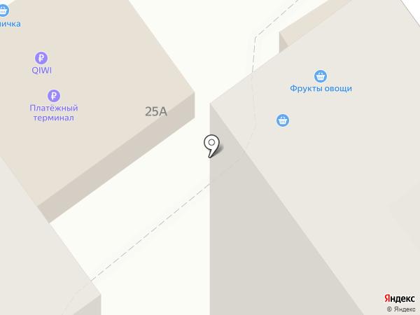 Томичка на карте Томска