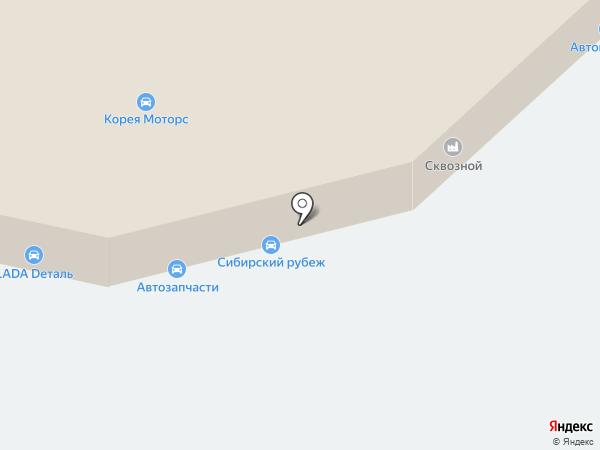Лада-тюнинг на карте Томска