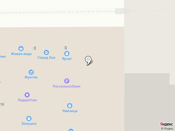 Лидерпак на карте Томска