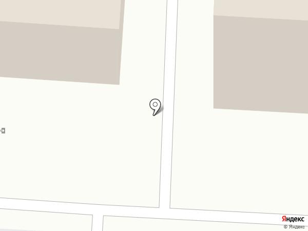 Хитком на карте Томска