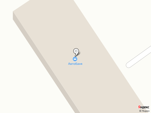 Автобаня на карте Белокурихи