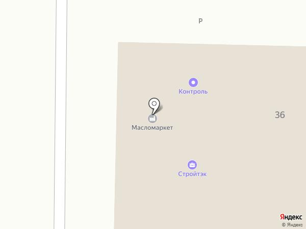Стройтэк на карте Томска