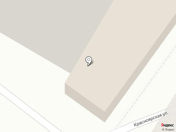 Удачный на карте Томска