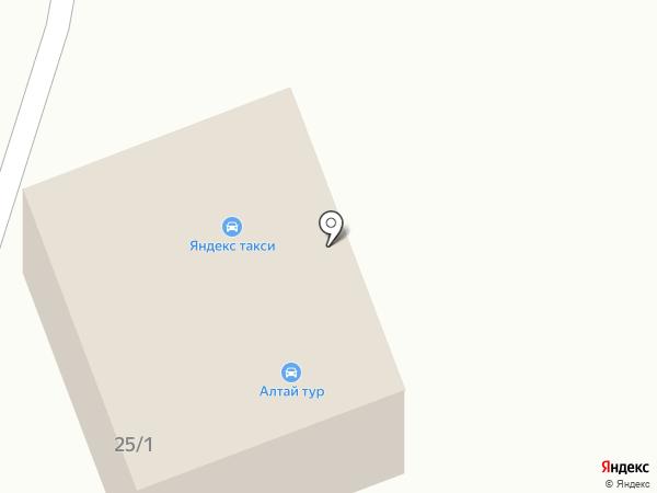Транзит на карте Белокурихи