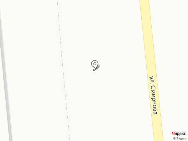 Привет! на карте Томска