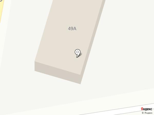 Юнисервис на карте Томска